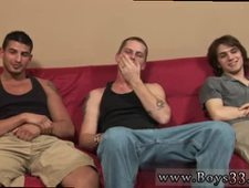 Straight russian military boys gay Matt knelt on all fours on the futon