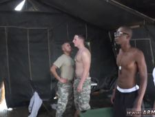 Nude male soldiers making camp and gay military men anal sex videos first