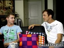 Young teen boy thong gay sex movie Brice Carson is bragging to his buddy