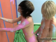 Young sexy long haired gay emo and twinks vids Miles and Preston attempt
