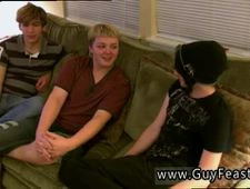 Gay emo teen wanking porn movietures first time Aron Kyle and James are