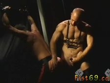 Sexy gay fucking fisting xxx Justin Southhall works over Scott Samson in