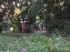 Free videos of hot military jacking off gay Taking the recruits on their