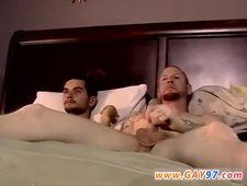 Black gay man jerking first time Chris Gives Brian A Hand