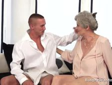 Enjoying a mature gilf