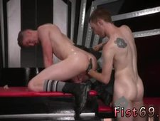 Porn fist gay first time Slim and sleek ginger hunk Seamus O Reilly
