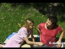 6 movies com Young german couple having great outdoor sex