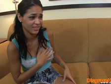 Ashamed beauty pussyfucked during hookup