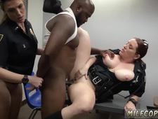 Sexy big tit cheating milf and ebony young white Milf Cops