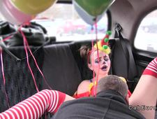 A video by mariakrete: Hot clown got pussy banged in cab | uploaded 41 minutes ago