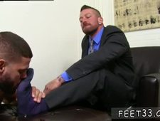 Black men sucking feet and shaved naked gay twinks legs Ricky is guided