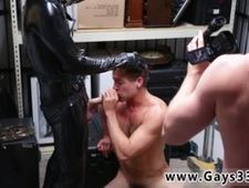 Straight guy twins gay Dungeon master with a gimp