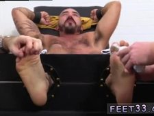 Bare hairy feet fetish gay Alessio Revenge Tickled