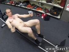Hardcore gay blowjob and men get blowjobs Fitness trainer gets