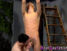 Gay boy diaper bondage After getting some lessons in fuck stick worship