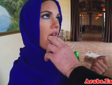 A video by pickups3: Veiled mulsim beauty fucked and facialized   uploaded 4 hours, 31 minutes ago