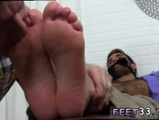 Cute legs galleries gay Chase LaChance Tied Up Gagged Foot Worshiped