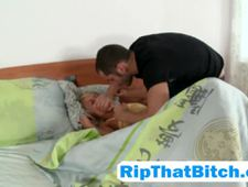 A video by rtbpartn45: Prime ass slim bitch gets her tight holes ripped by a rock hard meaty dagger | uploaded 1 day, 18 hours ago