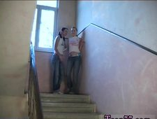 Russian teen mary first time Young lezzies poking in a hallway