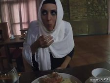 Arab sex ass and boobs sucking Hungry Woman Gets Food and Fuck