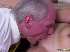 Old guy big tits Ivy impresses with her gigantic baps and ass