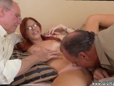 Hairy old moms and sons first time Frankie And The Gang Take a Trip Down