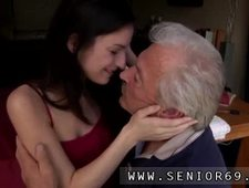 Old granny big boobs first time Horny senior Bruce spots a adorable nymph