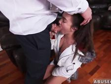 duddy s step daughter punished strap on Babysitters enjoy rock hard cock