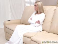 Teen asshole destroyed and blonde tits gangbang Brother Rey has a muddy