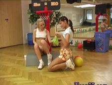 Luscious lopez lesbian domination 1 Cindy and Amber plowing each other in