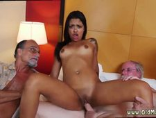 Old people penis movies Staycation with a Latin Hottie