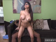 Hardcore face sitting first time Mia Khalifa Tries A Big Black Dick