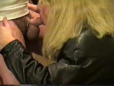 Amateur Blonde Tranny Trinity Suckin Dick Like Shes In Love