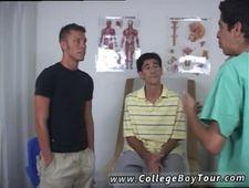 Gay sex boys physical exam by male young doctor and hentai The doctor